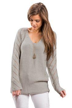New Product Alert: Oatmeal Open Knit.... Save over 85% off today! VictoryRoze.com: http://victoryroze.com/products/oatmeal-open-knit-sleeve-cutout-v-neck-sweater?utm_campaign=social_autopilot&utm_source=pin&utm_medium=pin