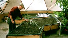 Building Aquaponic Grow Beds - Time Lapsed, via YouTube.