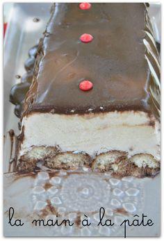 Dessert glacé façon tiramisu -