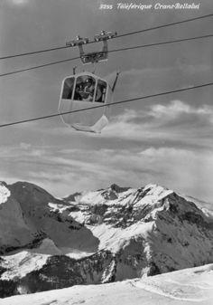Crans Montana, Télépherique Bella Lui 1959