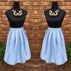 Maxi Pleated Skirt...#SunshowerLove