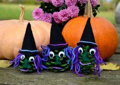 DIY Halloween : Pinecone Witch DIY Craft