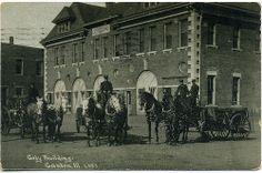 Postcard: Canton, IL City Bldg