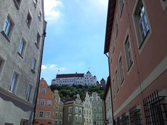 Landshut and the Trausnitz castle