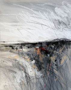 Daily Painters Abstract Gallery: Grey Field One, abstract landscape painting by … Daily Painters Abstract Gallery: Gray Field One, abstrakt landskapsmaleri av Carol Engles Abstract Landscape Painting, Landscape Drawings, Landscape Art, Landscape Paintings, Abstract Art, Landscape Stairs, Creative Landscape, Landscape Pictures, Landscape Illustration