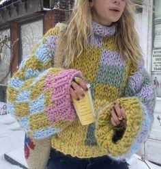 Crochet Vintage, Cute Crochet, Knit Crochet, Fashion Killa, Look Fashion, Winter Fashion, Crochet Clothes, Diy Clothes, Mein Style