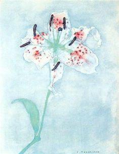 Lily - Piet Mondrian