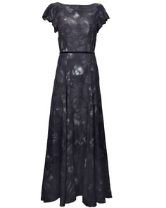Bolongaro Trevor's PAPILLON DRESS: A perfect evening event dress! Features the 'Papillon' digitally printed moth design all over the garment. The drawn in waist line provides the perfect fit. Event Dresses, Formal Dresses, Silk Crepe, Perfect Fit, My Style, Outfits, Moth, Printed, Wedding