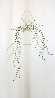 Do it on the balcony jali Diy Embroidery Patterns, Hand Embroidery Dress, Flower Embroidery Designs, Simple Embroidery, Hand Embroidery Stitches, Silk Ribbon Embroidery, Flower Patterns, Cross Stitch Embroidery, Flower Doodles