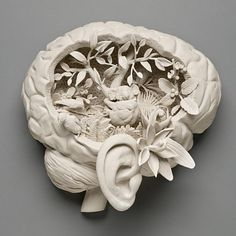 gorgeous sculptures by Kate MacDowell