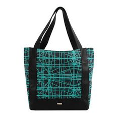 Smart, Polished Totes And Satchels- turquoise