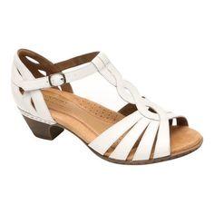2898669718a59 Rockport Women s Cobb Hill Abbott Curvy T-Strap Sandal