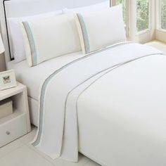 Cotton Sheet Set in Ivory Suíte De Hóspedes 68c95eb583803
