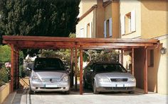 BMW have partnered with Solarwatt to produce a solar energy carport system for use with their BMWi electric car.