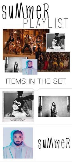 """suummer playlist"" by anacxrros ❤ liked on Polyvore featuring art and Summerplaylist"