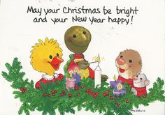 Christmas POSTcards swap from — thanks! Snoopy Christmas, Christmas Cartoons, Christmas Animals, Christmas And New Year, Merry Christmas, Christmas Wishes, Christmas Time, Christmas Ideas, Christmas Cards