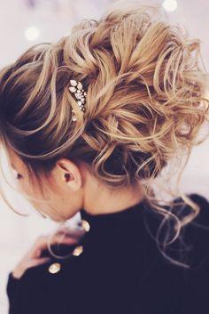 Wedding Hairstyles For Every Hair Length ❤ See more: http://www.weddingforward.com/wedding-hairstyles-every-hair-length/ #weddings