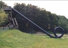 How'd you like a slide with a loop in it!