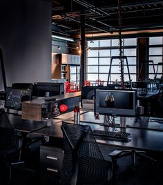 Open plan offices from Stereo D Offices - Toronto