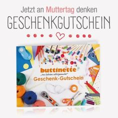 Anleitung: Knöpfebild mit Herz zum Muttertag - buttinette Blog Diy Gifts, Baby, Crafts, Craft, Tutorials, Tejidos, Free Sewing, Craft Tutorials, Manualidades