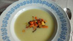 Pórová krémová polievka Panna Cotta, Soup, Pudding, Ethnic Recipes, Desserts, Tailgate Desserts, Dulce De Leche, Deserts, Custard Pudding