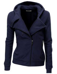 Oooo, me too!  Navy, Size M.  :) Doublju Women's Fleece Zip-Up High Neck Jacket at Amazon Women's Clothing store: Fleece Outerwear Jackets