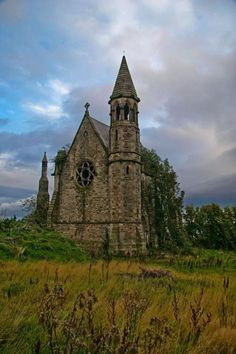 Belfast Castle's Old Chapel, Ireland