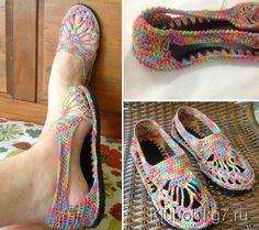 Cómo hacer calzado tejido al crochet paso a paso DIY | Todo crochet