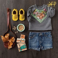 Our newest Moccs color - Goldenrod! Click for more info on Where to Buy. #freshlypickedmoccs #kidsfashion