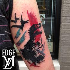 Jennifer Edge Jurassic Park Tattoo
