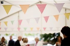 Inspiration boards for wedding bunting. Unique wedding bunting ideas to inspire you. Bunting available to buy online now. Lace Bunting, Wedding Bunting, Marquee Wedding, Wedding Reception, Our Wedding, Wedding Decorations, Bunting Ideas, Wedding Things, Wedding Stuff