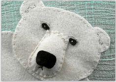 Polar Bear  Sea Creature Collection Postcard by merrilyyours