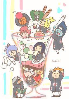 akatsuki no yona . akatsuki no yona haku . Naruto Kakashi, Naruto Shippuden Sasuke, Anime Naruto, Naruto Akatsuki Funny, Deidara Akatsuki, Naruto Comic, Naruto Cute, Naruto Funny, Boruto