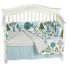 Dwell Studio™ Owls Sky 4-Piece Crib Set, 100% Cotton