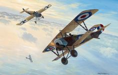Nieuport 16 Albert Ball vs Fokker - Mark Postletwhaite
