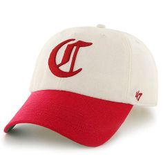8f37c99464b7a Cincinnati Reds Two-Tone Brooksby Clean Up Adjustable Cap by  47 Brand - MLB