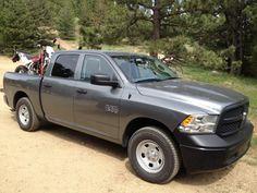 #Review: #2013 @Ram Trucks  #1500 #ST #Crew – #Works Hard, #Plays Hard #Ram @TFLcar