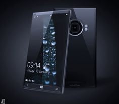 Surface phone concept | Designer: Yanko Andreev #mobile #surface #industrialdesign #productdesign #smartphone