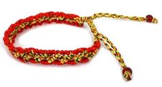 Hand Made Color String Bracelet --Good for General Good Luck - St001 Luos Cultural Goods. $4.95. 2 red beads at the end of the tied. one size fits all ; adjustable string tied. handmade string bracelet. it is said to bring good luck and fortune. Save 67% Off!