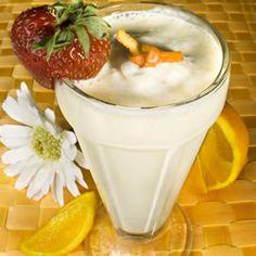 Orange Jewel (aka Orange Snowman or Orange Snowball). I like the garnishes on this drink- that tiny orange peel knot!