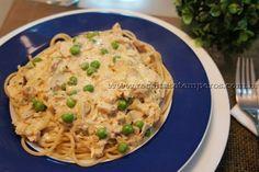 Espaguete Integral ao molho de Frango | Receitas e Temperos