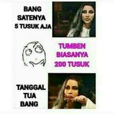 Ktawa.com Meme Lucu Bang satenya 5 tusuk aja. Tumben biasanya 200 tusuk. Tanggal tua bang Free Mp3 Music Download, Mp3 Music Downloads, Quotes Lucu, Simple Quotes, Meme Comics, Satire, Islamic Quotes, More Fun, Funny Quotes
