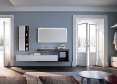 NYÙ by IDEAGROUP http://www.ideagroup.it/bagno-moderno/mobili-bagno-eleganti-nyu