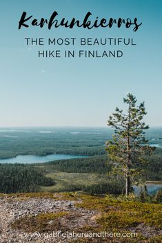 Hiking Karhunkierros Trail in Kuusamo, Finland - The most beautiful hike in Finland. Everything you need to know when planning your trip. Hiking Routes, Hiking Guide, Hiking Trails, Europe Travel Guide, Backpacking Europe, Travelling Europe, Traveling, Backpacking Food, Travel Guides