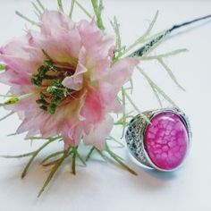 Pink appreciation ring