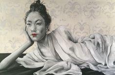 """""""Sguardo a oriente"""" 60x100 Oil in canvas"""