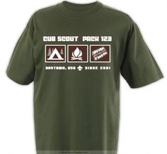 Pack Camp Out Code Shirt - Cub Scout™ Pack Design SP2537