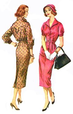 My Puzzles - 1950s-1970s Retro Cool - 1950s Dress Fashions