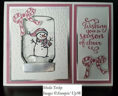 Jar of Cheer stamp set with Everyday Jars framelits