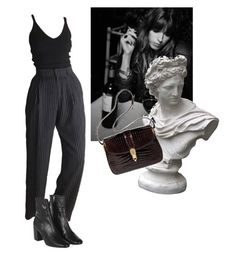 """""""délicieux malheurs"""" by eniramarine ❤ liked on Polyvore featuring Topshop, Market and Gucci"""